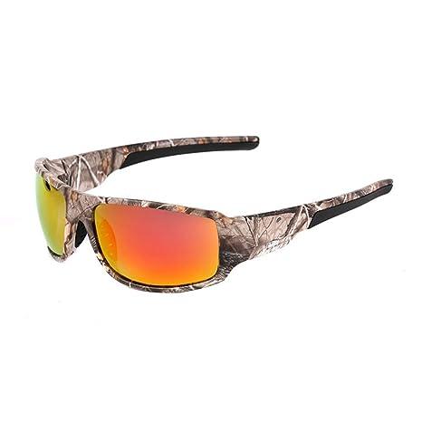 Gafas de sol de conducción de los hombres gafas po Camuflaje ...