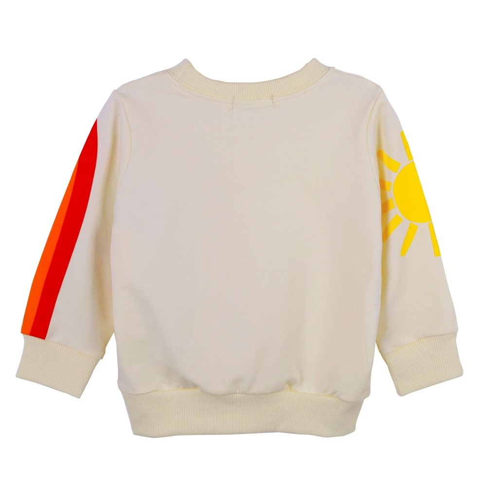 fd3b3ec47 Amazon.com: BAOBAOLAI Little Girls Kids Long Sleeve Sweatshirts Children  Sun Rainbow Rabbits Floral Tops Jumper Shirts for 1-7Years: Clothing