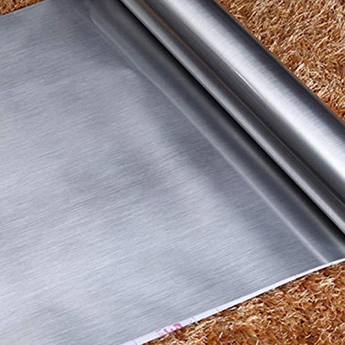 fenjinsheng Azulejos Adhesivos Cocina 60X300Cm Plateado ...