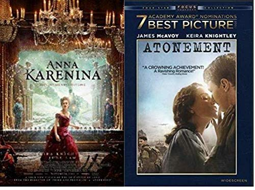 - Anna Karenina & Atonement - Double Feature DVD 2-pack