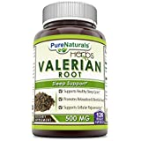 Pure Naturals Valerian Root 500 mg, Capsules - Supports Healthy Sleep Cycles (120 Count)