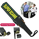 FidgetFidget Security Detector Scanner Portable Hand-held Test Wand Airport Scanner+Sheath