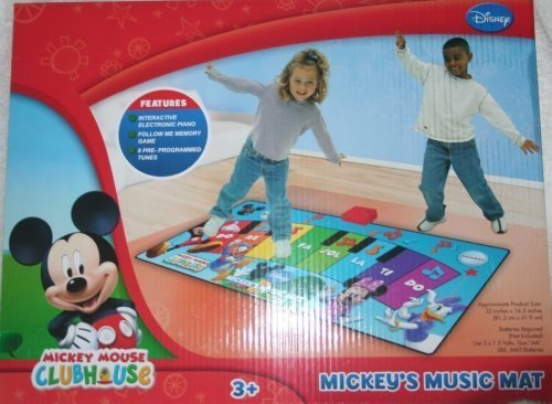 (Disney Mickey's Music Mat Children, Kids,)