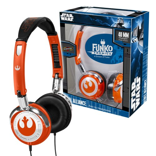 Price comparison product image Funko Rebel Alliance Fold-Up Headphones