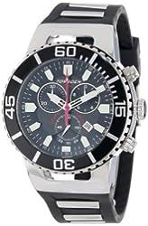 Torgoen Swiss Men's T24301 T24 Black 20 ATM Chronograph Dive Watch