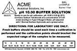Acme Analytical Solutions pH 10 Buffer