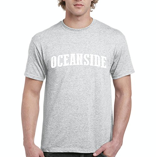 Mom`s Favorite Oceanside California Beach City Traveler Gift Men's Short Sleeve T-Shirt (5XLSG) Sport -