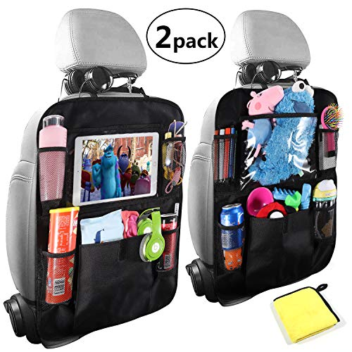 (Car Back Seat Organizer,Car Seat Back Protectors with 10