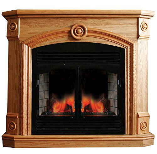 Cheap ProCom Full Size Deluxe Electric Fireplace with Remote Control - Oak Finish Model# SFE32RE1-O Black Friday & Cyber Monday 2019