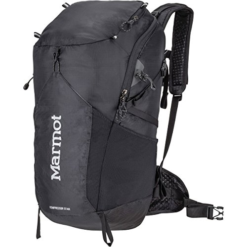Marmot  Men's Kompressor Star Black One (Marmot Nylon Backpack)