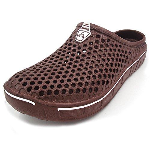 Amoji Unisex Garden Clogs Slippers Sandals