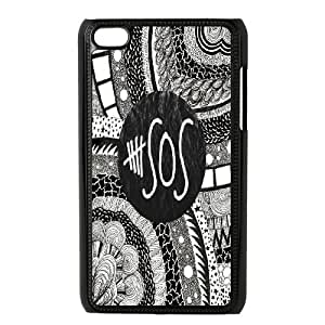 High Quality Phone Back Case Pattern Design 195SOS Esquisite Design- FOR IPod Touch 4th
