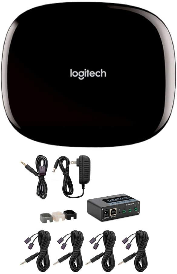 Logitech Harmony Hub Control for Home Entertainment Devices and Wired Remote Control Extender