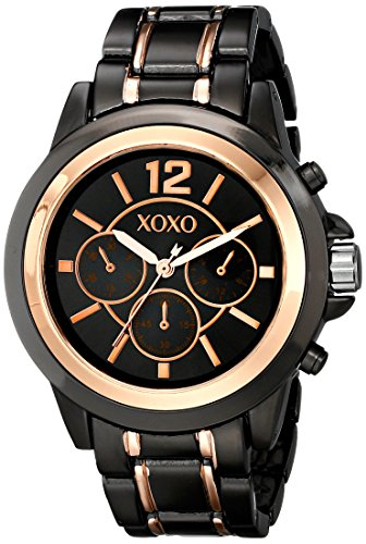 XOXO Womens XO5585 Two-Tone Fashion Watch