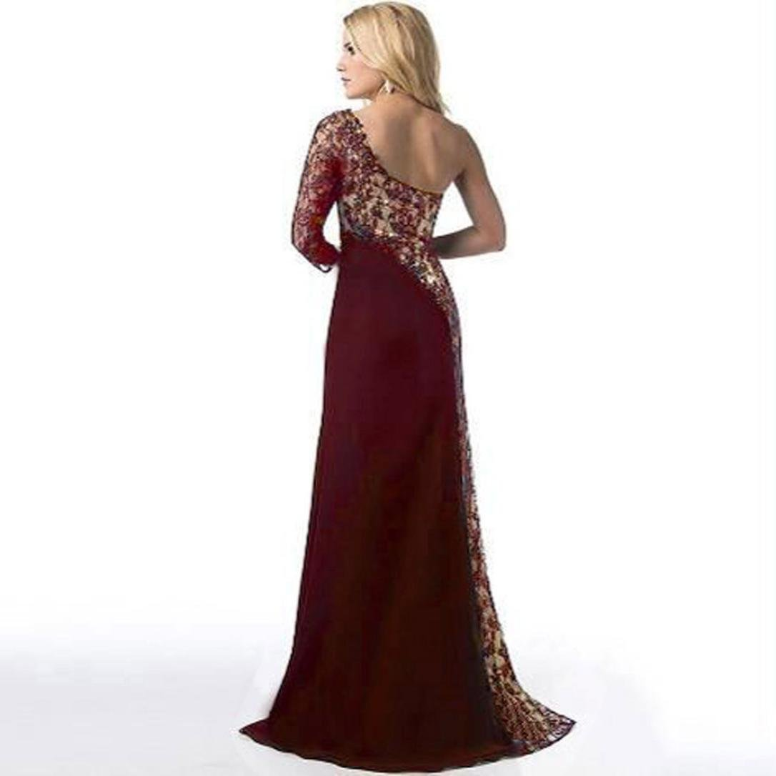 Todaies-Women Dress レディース セクシー(Sexy) B076WWNTQ3 X-Large|ワイン ワイン XLarge
