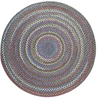 product image for Gardener's Supply Company Round Country Jewel Braided Rug, 6'