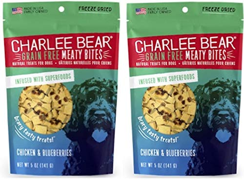 (Charlee Bear - Meaty Bites Chicken with Blueberries (5oz) - 2)