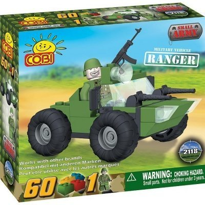 COBI 60 Piece Military Vehicle RANGER Small Army #2118