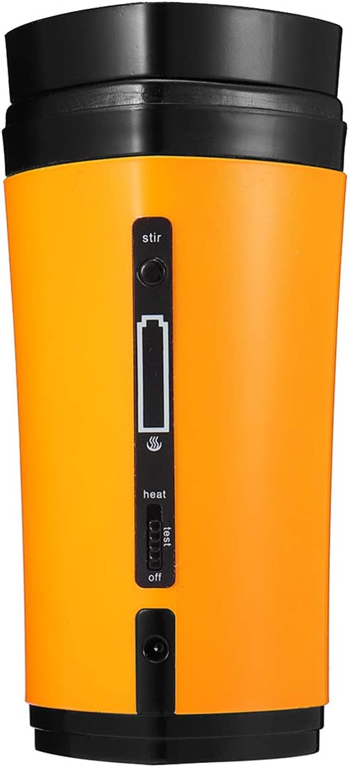 USB Self Stirring Cup USB Charing Heating Coffee Cup Portable USB Mixing Mug