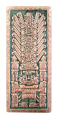 NOVICA Smiling God Copper Wall Adornment, Large