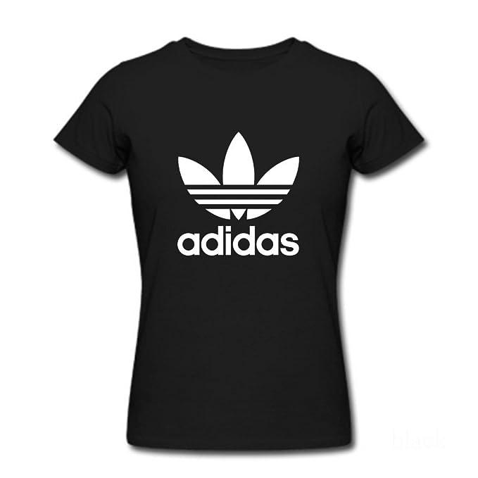 adidas t shirt donna nero