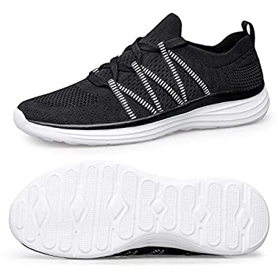 Alibress Womens Walking Shoes Mesh Slip-on Lightweight Sneakers Comfortable Breathable Athletic Shoes for Walking Traveling