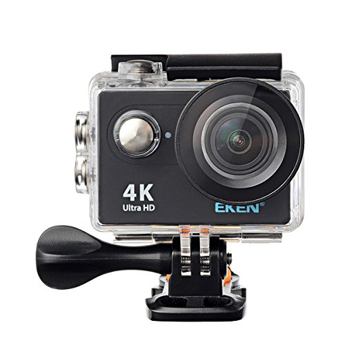 EKEN H9 WiFi Sport Action Camera DV Car DVR SPCA6350 4K 25fps 1080p 60fps 720P 120fps New Version -