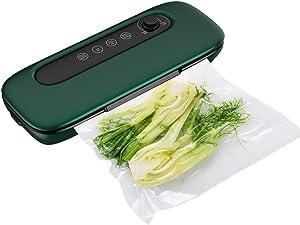 Food Vacuum Sealer, BAOSHARE Vacuum Sealer Machine Automatic with Bag Starter Kit Food Saver for Food Preservation