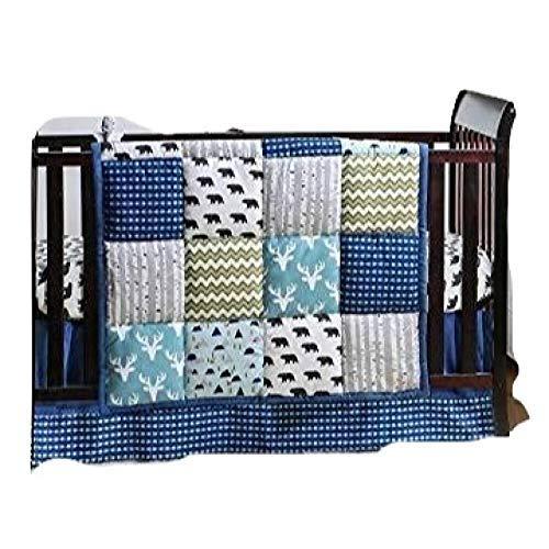 (Woodland Dreams 4 Piece Baby Crib Bedding Set by The Peanut Shell)