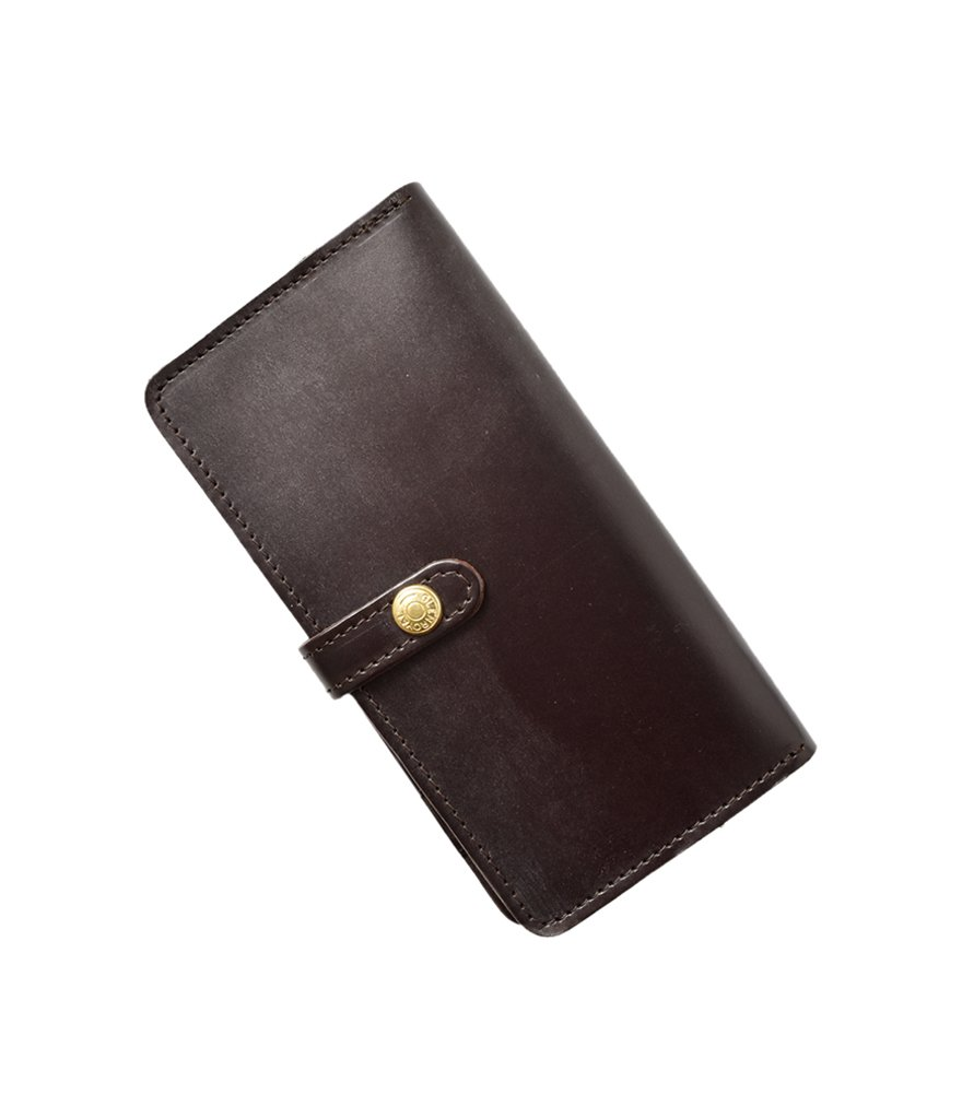 (グレンロイヤル)GLENROYAL フルブライドルレザー長財布 Round Long Purse  03-6178 B01CDU64VS One Size|Cigar Cigar One Size