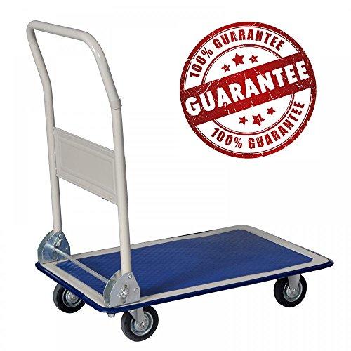 New Platform Cart Dolly Folding Foldable Moving Warehouse Push Hand Truck by BestOffice (Image #5)