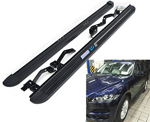 Side Step For Jaguar F-Pace fpace 2016 2017 2018 New Running Boards Door Side Bars Nurf Bar by Kingcher