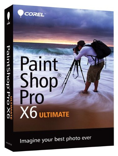 Corel PaintShop Pro X6 Ultimate [Old Version] PSPX6ULENMBAM