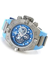 Invicta Men's 19478 Subaqua Swiss Chronograph Stainless Steel Blue Polyurethane Strap Watch