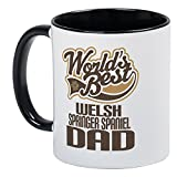CafePress - Welsh Springer Spaniel Dad Mug - Unique Coffee Mug, Coffee Cup