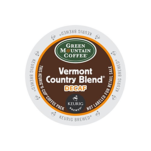 (Green Mountain Coffee Roasters 7602 Vermont Country Blend Decaf Coffee K-Cups, 24/box)