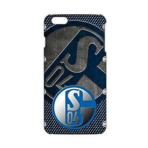 FC Schalke 04 3D Phone Case for iPhone 6 Plus