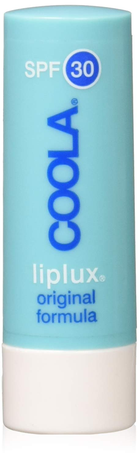 COOLA Organic Liplux Sport Original Formula Lip Balm Sunscreen | Broad Spectrum SPF 30 | Certified Organic Ingredients | Farm to Face | Non-GMO | Antioxidant Powered Natural Fruit Butters by Coola Suncare