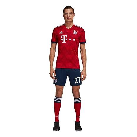 e3d669deb9182c adidas FCB FC Bayern München Hose Home Heimshorts 2018 2019 Kinder Alaba 27  Gr 152