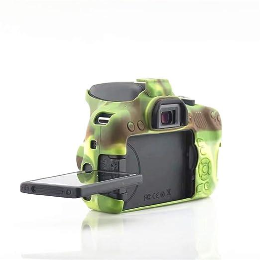 Funda protectora de silicona para cámara Canon EOS 750D: Amazon.es ...