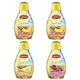 Lipton Liquid Iced Tea Mix, Tea Variety Pack, 9.72 oz, 4 count