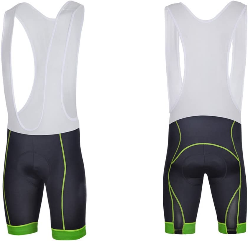 sponeed Men's Road Bike Shorts Bib Pants Gel Padded Cycling Knickers Compression Cycle Bottoms: Clothing