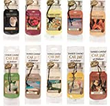 Yankee Candle® Classic Paper Car Jar Hanging Air Freshener Assorted Variety- 5 pack