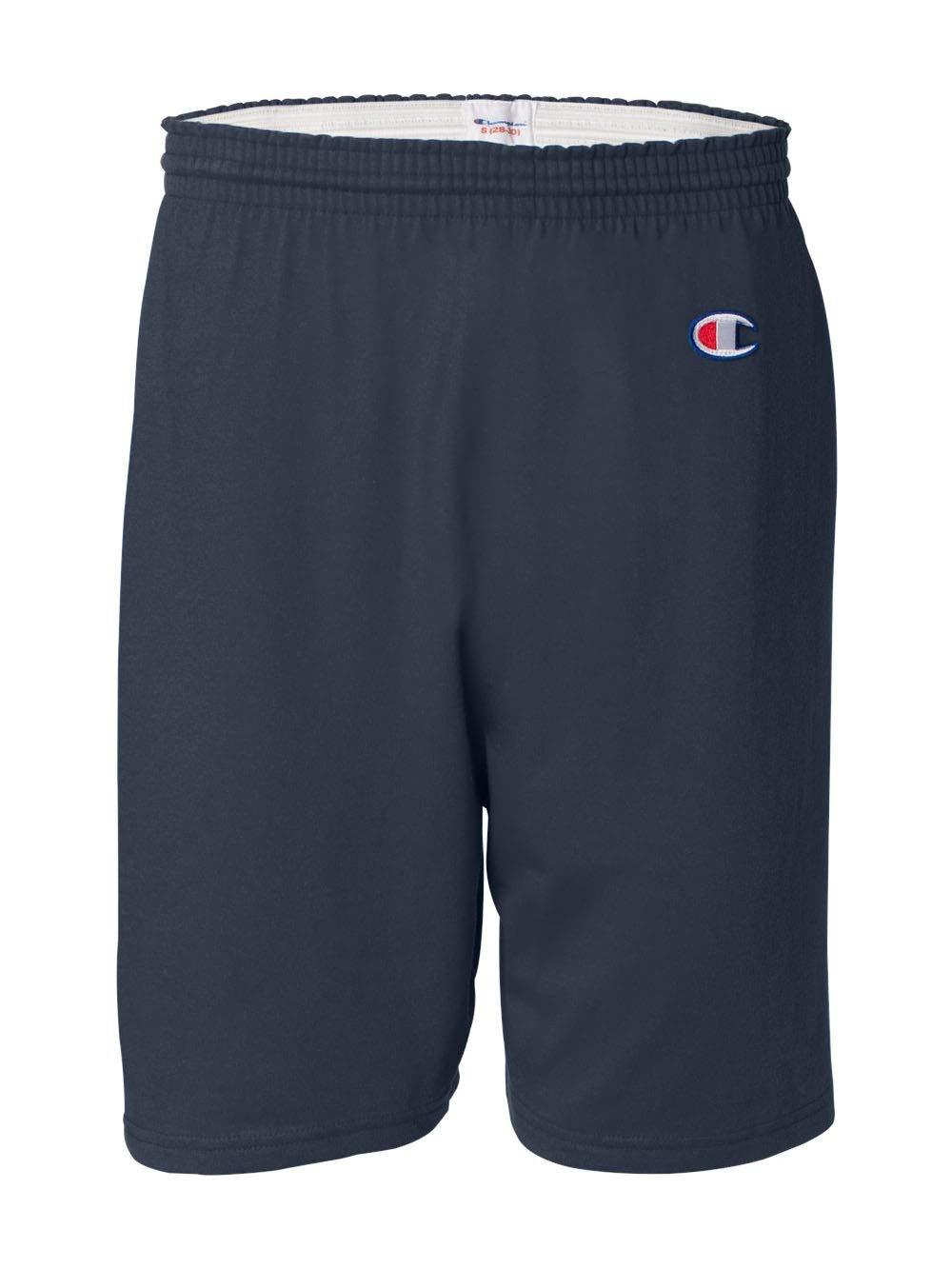 Champion Men's  6-Inch Navy   Cotton Jersey Shorts - XX-Large