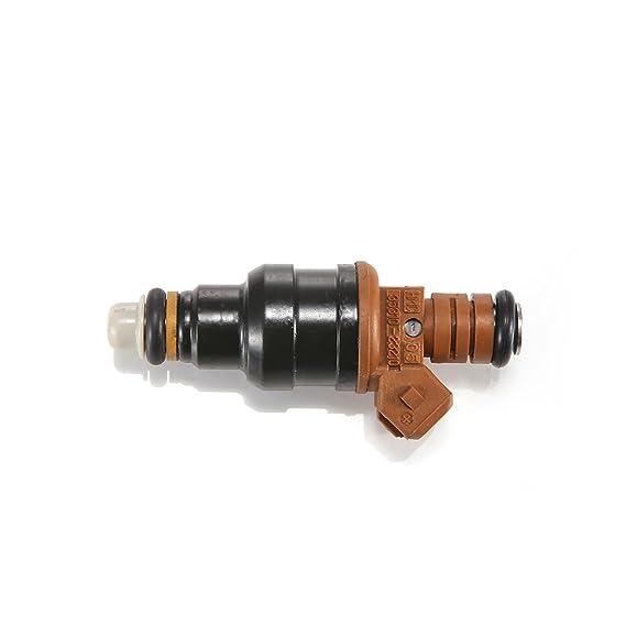 JZK Fuel Injectors 4pcs//Set 4 CNR112 3531023210 for 1999-2001 Elantra 2.0L 4 1997-2001 Tiburon 2.0L GENUINE Fuel Injector 4pcs