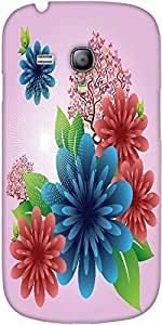 Snoogg Spring Flowers Designer Protective Back Case Cover For Samsung Galaxy ...
