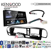 Volunteer Audio Kenwood DDX9704S Double Din Radio Install Kit with Apple Carplay Android Auto Fits 1995-1999 Suburban, 1995-1999 Tahoe