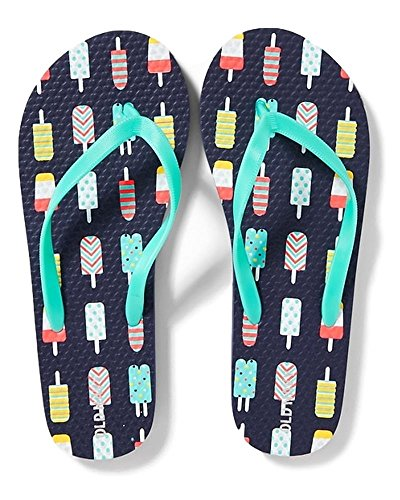 Flip Flops for Girl's Different Styles - Great Prices (1/2, Popsicle) (Old Navy Girls Flip Flop)