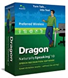 Dragon NaturallySpeaking 10 Preferred Wireless (English)