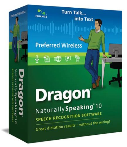 Dragon NaturallySpeaking 10 Preferred Wireless (Old Version) by Nuance Dragon